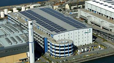 兵庫県尼崎市のプロロジスパーク尼崎2 竣工2007年3月
