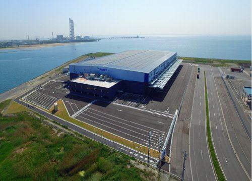 20170519trancecity 500x359 - 日本トランスシティ、伊勢湾倉庫/霞北埠頭流通センター5月25日竣工