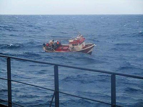 20170526nyk 500x375 - 日本郵船/グループ会社のばら積み貨物船がペルー沖で漁船を救助