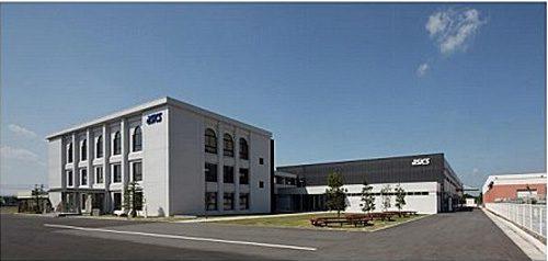 山陰アシックス工業の新工場棟
