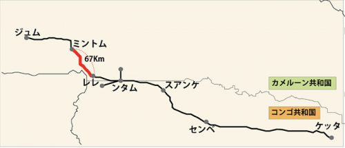 対象区間地図
