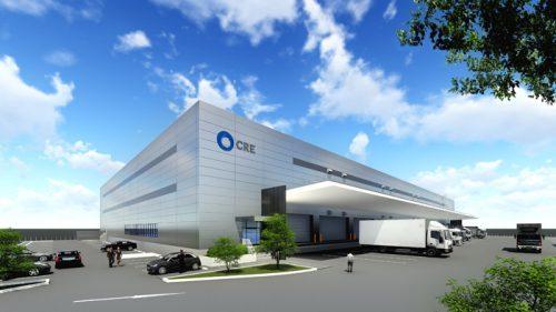 20170601cre 500x281 - CRE/佐賀県鳥栖市に1.7万m2の物流施設を着工