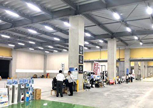 ロボット製品の展示イメージ
