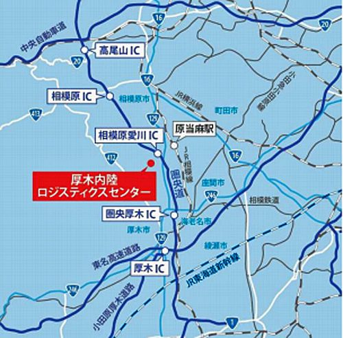20170607centerpoint2 500x492 - センターポイント/神奈川県厚木市に5.5万m2の物流施設着工