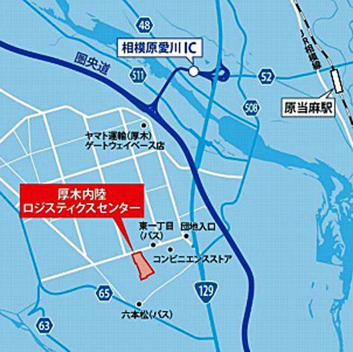 20170607centerpoint3 500x498 - センターポイント/神奈川県厚木市に5.5万m2の物流施設着工