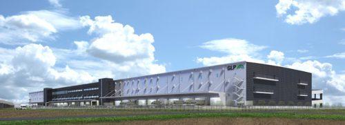 GLP五霞の北西側外観イメージ