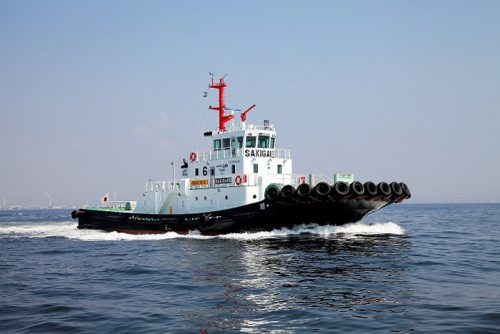 LNG燃料タグボート