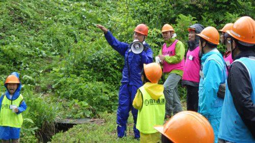 森林インストラクターによる森の案内