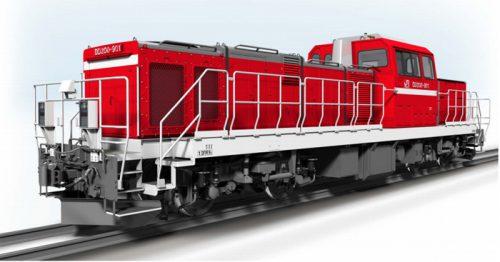DD200形式電気式ディーゼル機関車デザイン