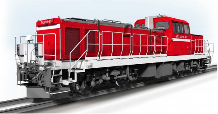 JR貨物/新型ディーゼル機関車、...