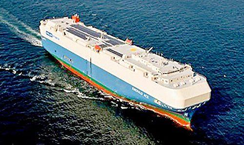20170616mol 500x298 - 商船三井/晴海ふ頭で自動車運搬船の船内見学会