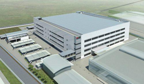 新工場の外観