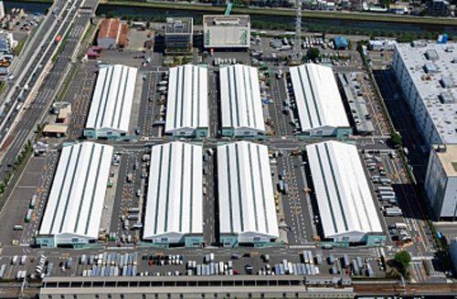板橋トラックターミナル全景