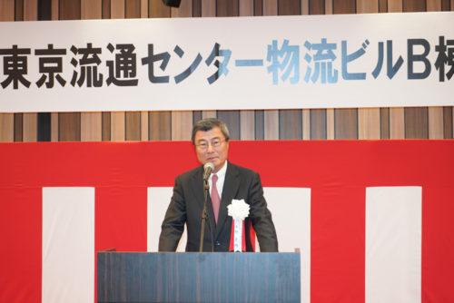 東京流通センターの小野真路社長