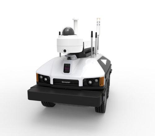 屋外自律走行監視ロボットSV-S500