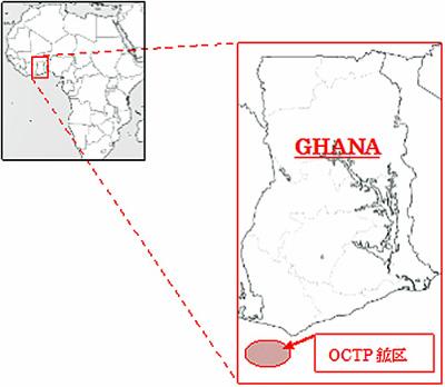 生産鉱区地図