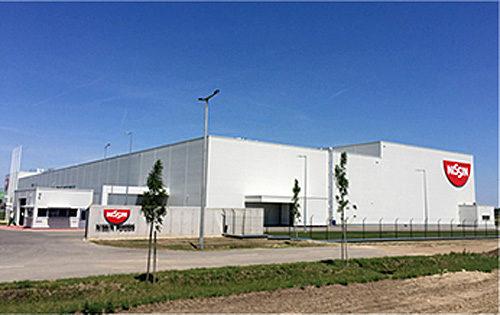 ハンガリーの新工場