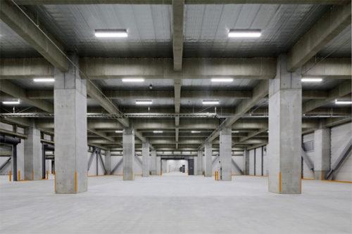 1フロア3万m2以上の庫内