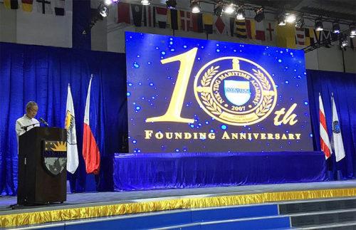 開校10周年記念式典