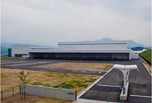 東日本物流センター搬入口