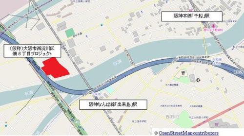 (仮称)大阪市西淀川区佃6丁目プロジェクト