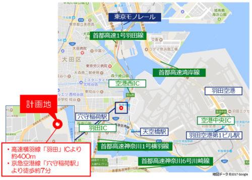 MFLP羽田位置図