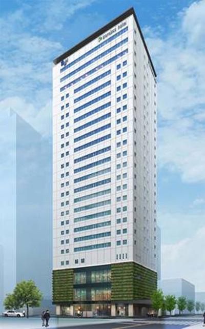(仮称)karaksa hotel Shin-Osaka Premie 完成予想パース