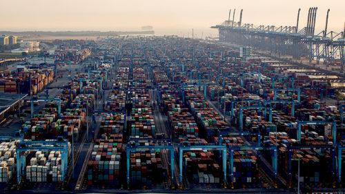 マレーシアのクラン港
