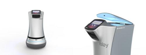 デリバリーロボット「Relay」