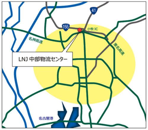 20170803loginet3 500x438 - ロジネットジャパン/愛知県小牧市に1.3万m2の物流施設を竣工