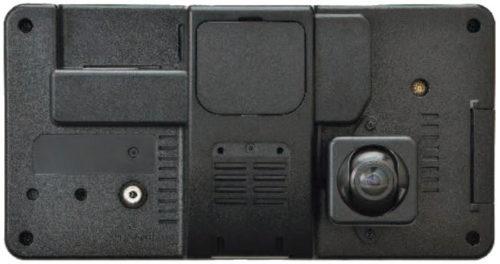 バックカメラモニター背面