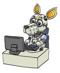 RPAのマスコットキャラクター「ロボカル」