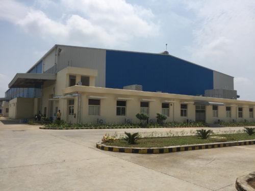 インドのスピーカー工場