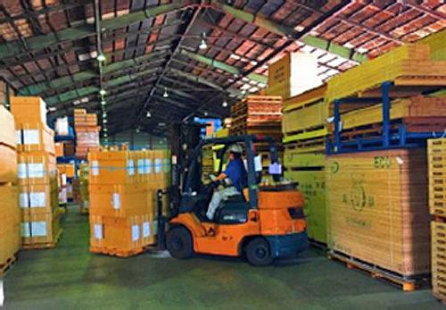 在庫、発注、仕分け、発送、搬入を一元管理(イメージ)