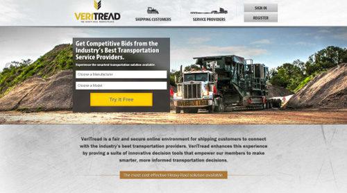 ヴェリトレッド社のホームページ