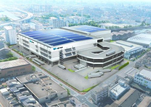 20170901mitsubishijisyo 500x354 - 三菱地所/名古屋市内に8万m2のマルチテナント型物流施設着工