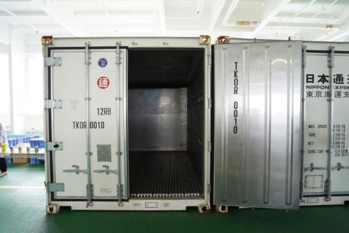 日通独自開発の冷凍・冷蔵コンテナ
