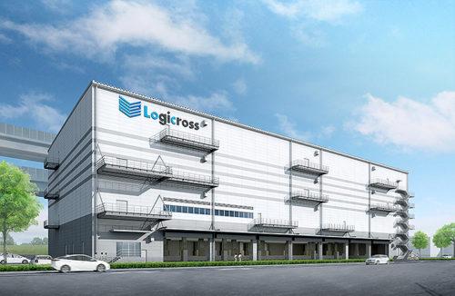(仮称)ロジクロス横浜港北の完成イメージ
