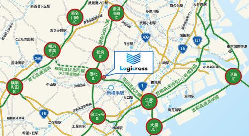 20170904mitsubishi2 500x274 - 三菱地所/第三京浜港北IC近隣に物流施設開発