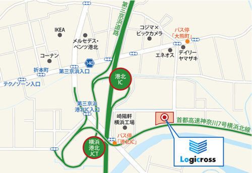 20170904mitsubishi3 500x344 - 三菱地所/第三京浜港北IC近隣に物流施設開発