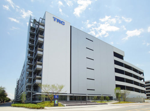 East Logisticsを開設したTRC物流ビルB棟