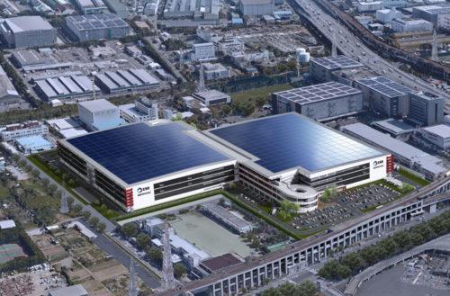 ESR市川ディストリービューションセンター鳥瞰図