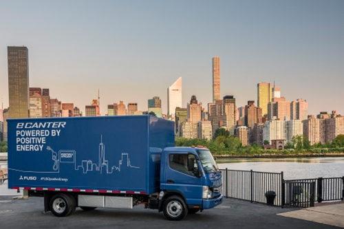 電気トラック「eCanter」北米仕様車