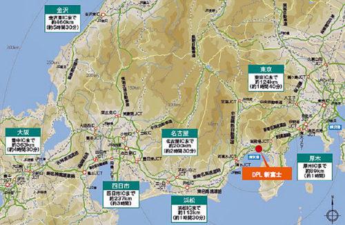 20170920daiwahouse4 500x327 - 大和ハウス/静岡県富士市にマルチテナント型物流施設を竣工