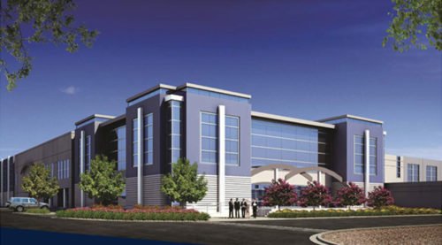 Optimus Logistics Centerの完成予想図