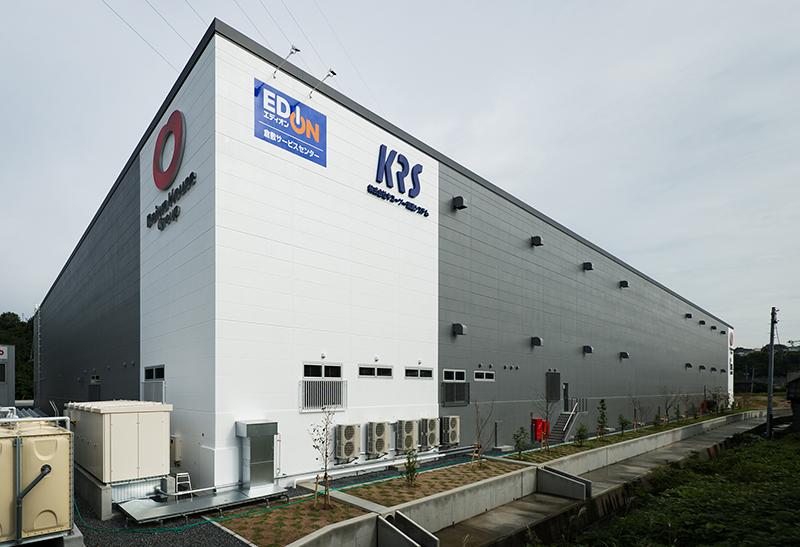 大和ハウス工業株式会社 事業所付近地図 岡山工場