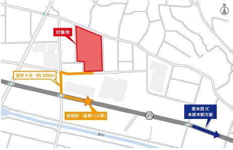 20170925orix3 - オリックス/神奈川県厚木市に3.3万m2の物流施設開発