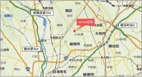 20171002mcudzama2 500x270 - 三菱商事都市開発/座間市の竣工前物流施設、10月17・18日内覧会