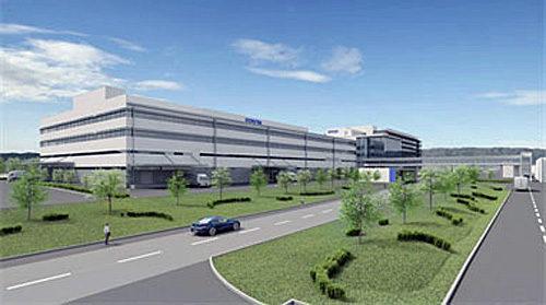 イノベーションセンターB棟の完成予想図