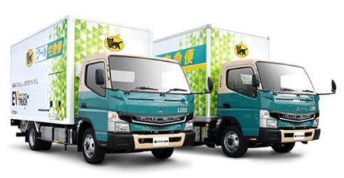 ヤマト運輸が新たに導入するオリジナルデザインの「eCanter」